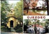 Pohlednice obce Újezdec